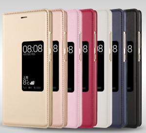 Pour-Huawei-P9-P9-Plus-de-Luxe-Telephone-Clapet-Cuir-PU-Etui-Housse-Protection