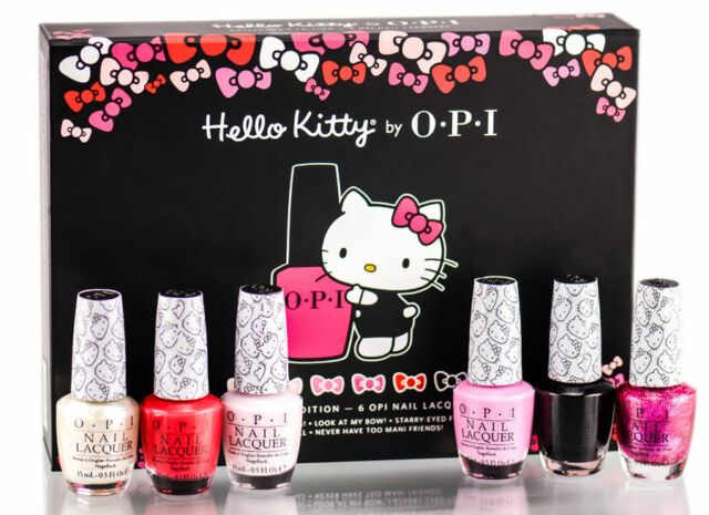 OPI DDH08 Hello Kitty 2016 Collectors Edition Nail Lacquer Set Of 6