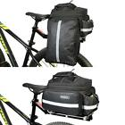 Roswheel Cycling Bike Bicycle Rear Seat Pannier Tail Bag Rack Trunk Shoulder Bag