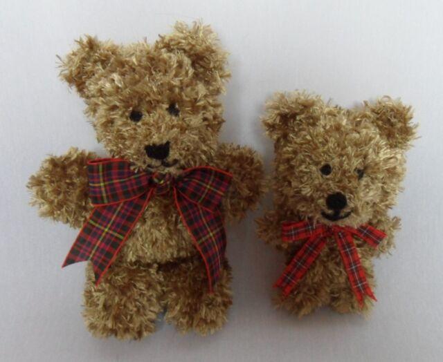 Knitting Pattern Small Teddy Bears Steve And Danno Eyelash Yarn