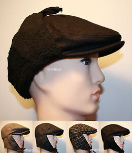 80c3f1407c2d7 Image is loading URBAN-WINTER-NEWSBOY-FLAT-CONVERTIBLE-IVY-WOOL-HAT-