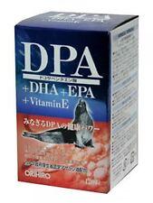 ORIHIRO DPA + DHA + EPA + VitaminE 120 capsules seal oil supplement japan F/S