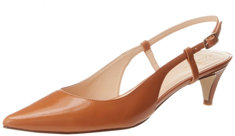 Cole Haan Haan Haan Para mujeres Vestido Zapatos de eslinga de 45 Baja Juliana (Camelo) Tamaño  7.5B  venderse como panqueques