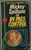 Mickey Spillane By-Pass Control Signed Autograph 1st Edition Paperback Book