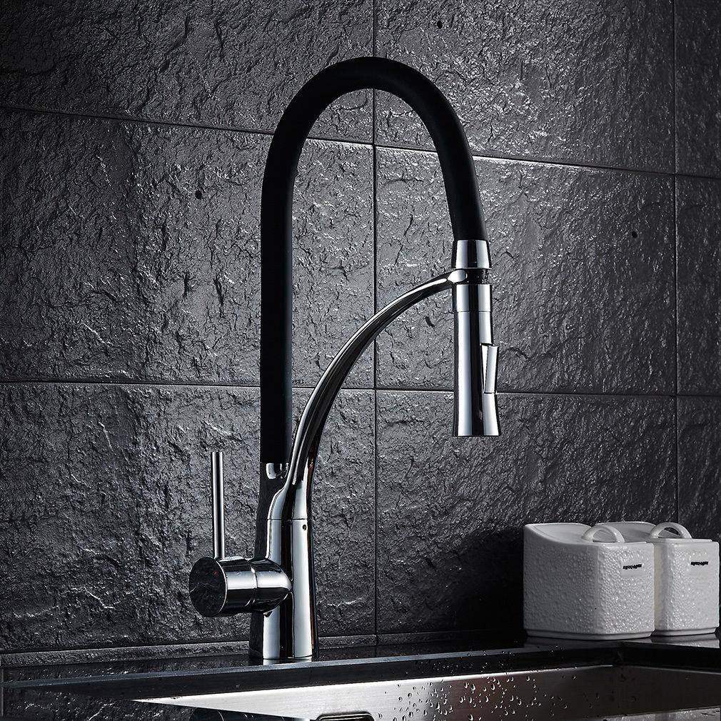 360° Herausziehbar Küchenarmatur Wasserhahn Spültischarmatur Mischbatterie Küche | Spaß  | Leicht zu reinigende Oberfläche  | Clearance Sale  | Neuer Eintrag