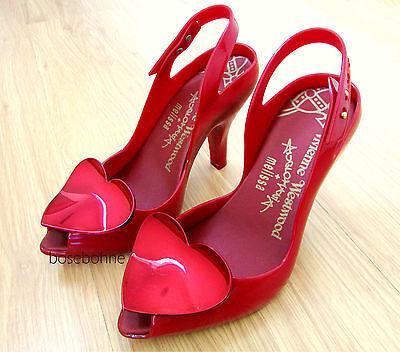 4fee5e5e774 Vivienne Westwood Anglomania + Melissa Lady Dragon Heart Shoes Vegan US 5