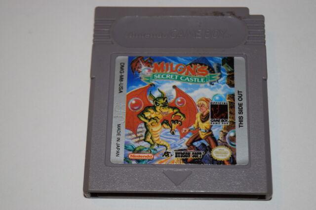 Milon's Secret Castle Nintendo Game Boy Video Game Cart