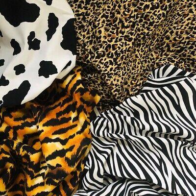 100/% cotton fabric Zebra Rose print per metre