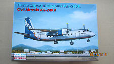 ANTONOV AN-24RV CIVIL AIRCRAFT 1/144 EASTERN EXPRESS 14462