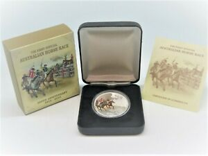 2010-FIRST-HORSE-RACE-Silver-Proof-Coin