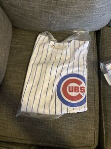 Majestic Coolbase Chicago Cubs  Authentic Jersey Sz medium Embroidered