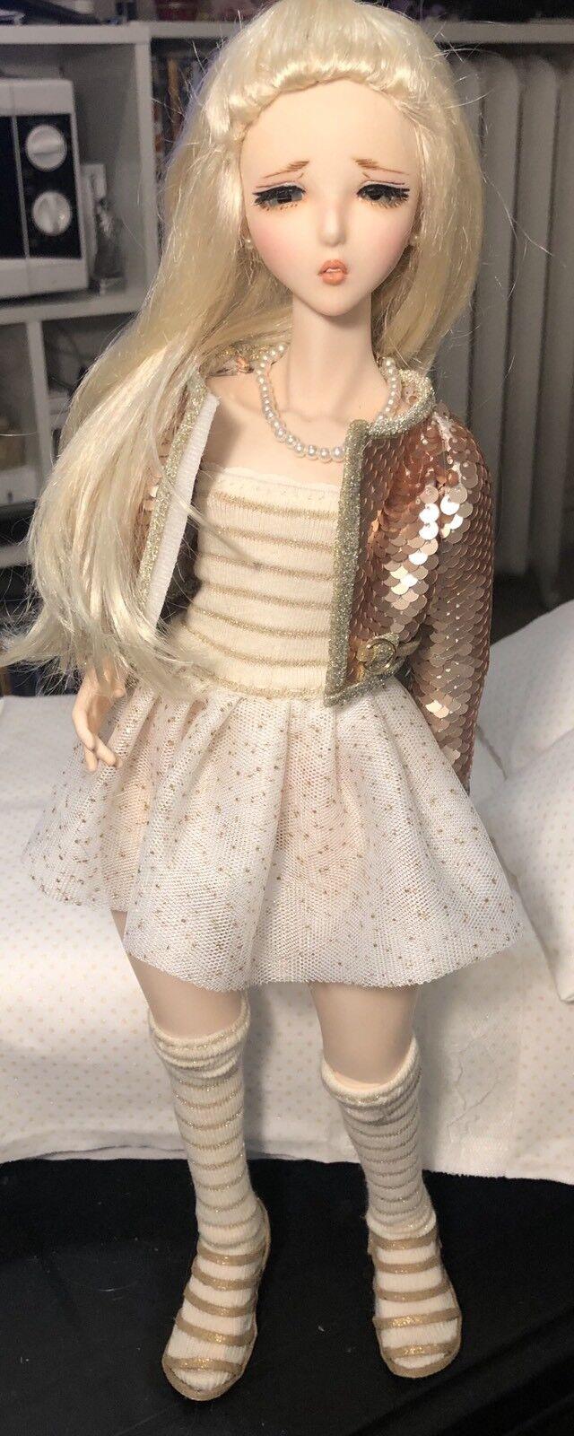 Vetement Outfit Dollfie Dream S Mdd Bjd 1/4 Msd Angel Philia