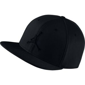 Nike Air Jordan Jumpman Cap Black Hat Snapback Basketball Summer ... 39b0ee6f1e6