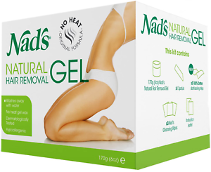 170g NAD/'S NATURAL Depilazione Gel