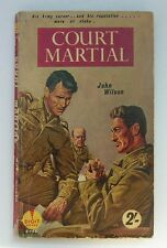 John Wilson - Court Martial - Digit Books  D198  1958 - Vintage Paperback PBO