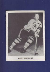 Ron-Stewart-1965-66-Coca-Cola-Coke-Cards-Hockey-EX-Boston-Bruins
