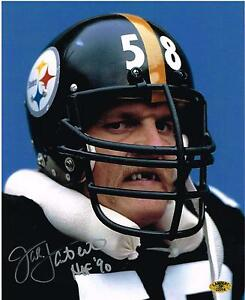 JACK-LAMBERT-Dracula-AUTOGRAPHED-Signed-PITTSBURGH-STEELERS-8X10-PHOTO