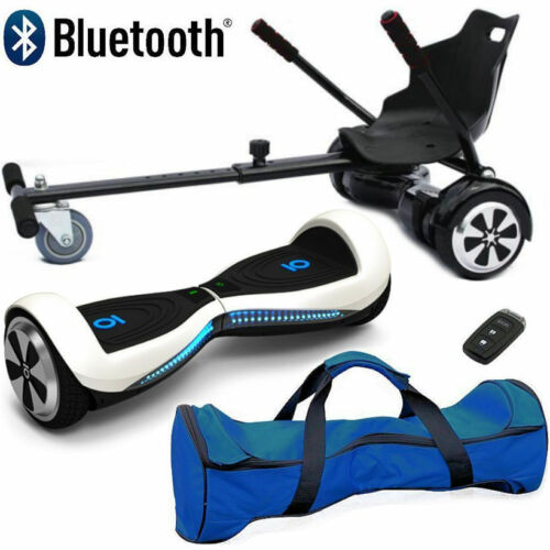 "Bluetooth 6.5/"" Swegway Bundle Combo Hover Scooter Board Self Balance Hoverkart"