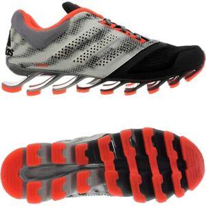 Adidas-springblade-Drive-2-negro-rojo-senores-zapatillas-running-aerobic-nuevo