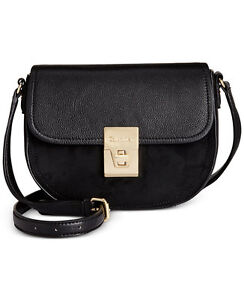 d81e05ae04 Image is loading New-Calvin-Klein-Women-Premium-Leather-Crossbody-Bag-