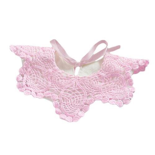 Cute Cotton Lace Baby Soft Feeding Scarves Bib Saliva Towel Food Feeding LC