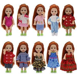 Lot-6sets-Fashion-Clothes-Dress-Outfit-Costume-for-Doll-4-034-Dolls-Handmade-Gift