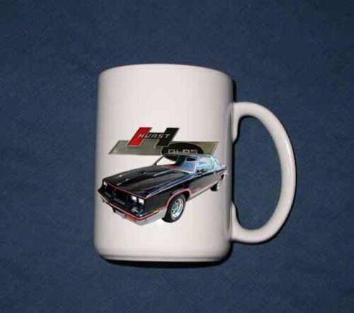 NEW  Hurst Olds 15 Oz mug!! Many years available!! FREE SHIPPING!!