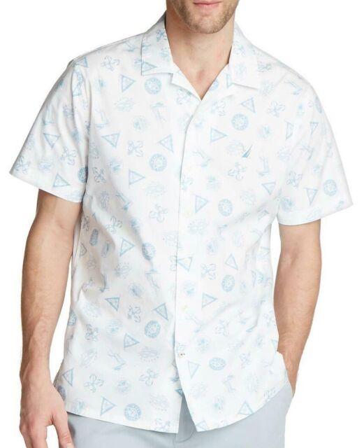 Vintage Nautica Shirt with Maritime Print SALE