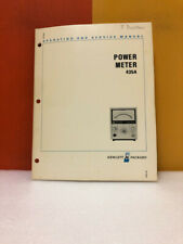 Hp 00435 90011 Power Meter 435a Operating Amp Service Manual
