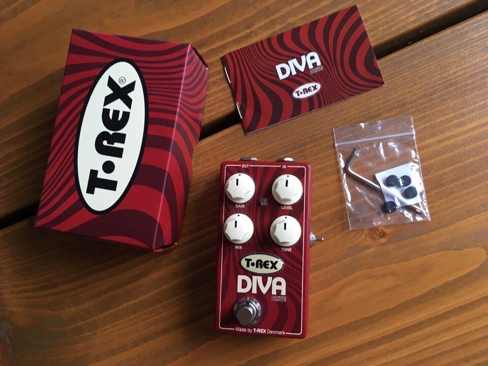 Overdrive pedal, T-Rex Diva Drive