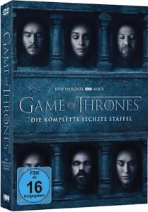 Game Of Thrones Staffel 6 5 Dvds 2016 Günstig Kaufen Ebay