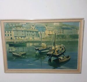 Hopper Gloucester Harbour Small Framed Art Print 9x7 Inch