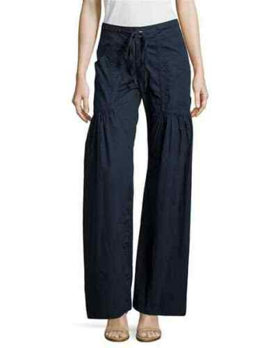 XCVI Willow Wide Leg Dark Denim Draw String Pants