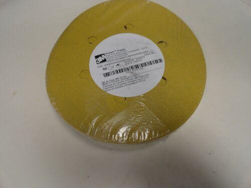 "PAPER 236 U 53110 QTY 50 MARINE BOAT 3M HOOK IT 6/"" P180 SANDING DISC"