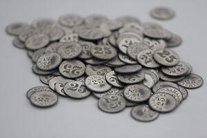 128 Stück Alte Münze Wertmarke Biermarke Mit Dem Wert 25 Ebay