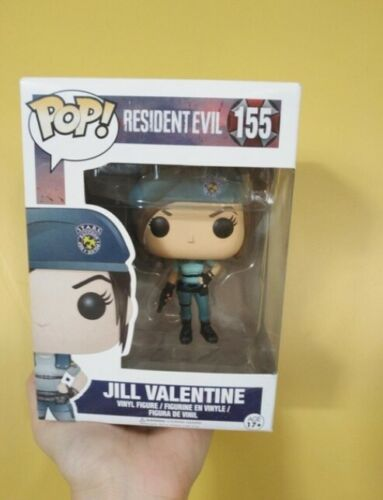 Funko pop resident evil jill valentine figure toy game ps3 ps4 xbox pc gaming