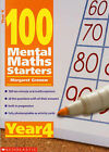100 Mental Maths Starters: Year 4 by Margaret Gronow (Paperback, 2002)