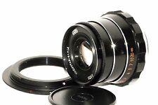 INDUSTAR-61 L/D 2.8/53 Lens M39 Fed Zorki Olympus Lumix Fujifilm + adapter