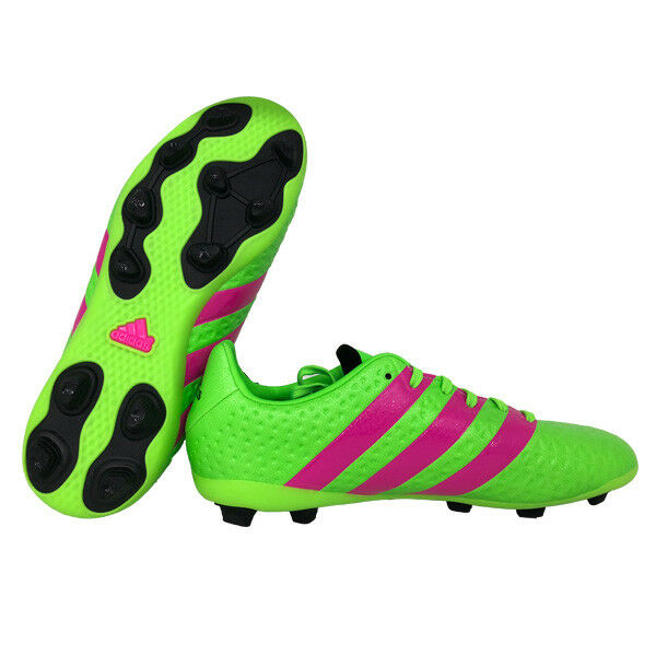 Circunferencia Aparecer Heredero  adidas Junior Ace 16.4 FXG Football BOOTS Af5034 Size UK 5.5 Green Kids for  sale online | eBay