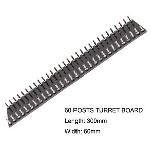 1PC-TURRET-BOARD-60-Post-Tag-Strip-Board-for-Vintage-AUDIO-Guitar-AMP-HiFi-DIY