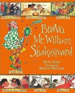 Bravo-Mr-William-Shakespeare-Williams-Marcia-Used-Good-Book