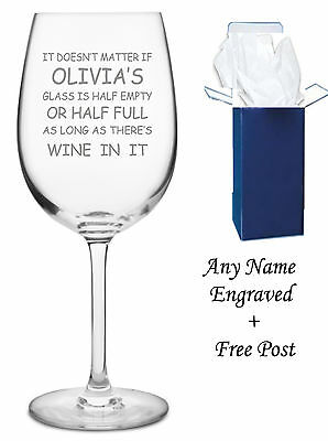 Personalised Engraved Wine Glass, mom mum gift sister Mother Gift