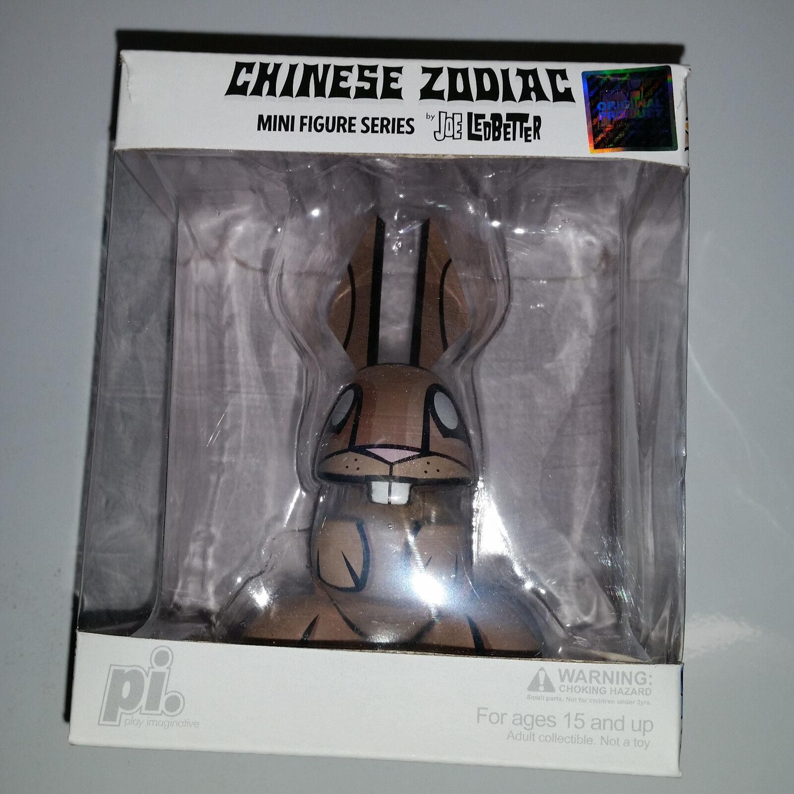 Ledbetter RABBIT Zodiac Vinyl Mini Figure DUNNY Action Mr. Bunny Minifig MYTH