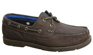 Timberland-Piper-Cover-FG-Lace-Up-Brown-Leather-Mens-Boat-Shoes-A1G8C-T5