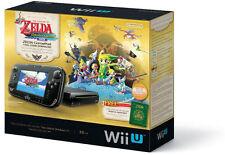 Nintendo Wii U The Legend of Zelda: The Wind Waker HD Deluxe Set 32GB Black...