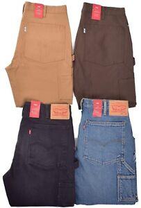 Levis-Men-039-s-69-50-Stretch-Slim-Carpenter-Denim-Twill-Jeans-Choose-Color-amp-Size
