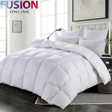 Luxury Duck Feather & Down Duvet Quilt Bedding All Sizes Extra Warm 13.5 Tog