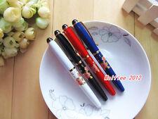 "1 pc LANBITOU Metal ""Blossom flowers"" elegant fountain pen,medium nib,005"