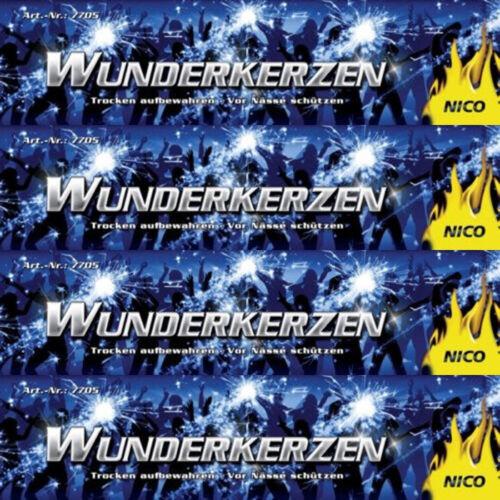 1 von 1 - 50x Wunderkerzen NICO 18cm Hochzeit Geburtstag Party Konzert Event Sparklers