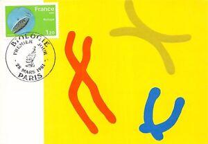 France-Biologie-1981-carte-premier-jour
